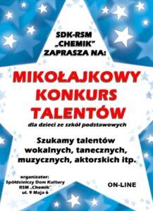 Mikołajkowy konkurs talentów